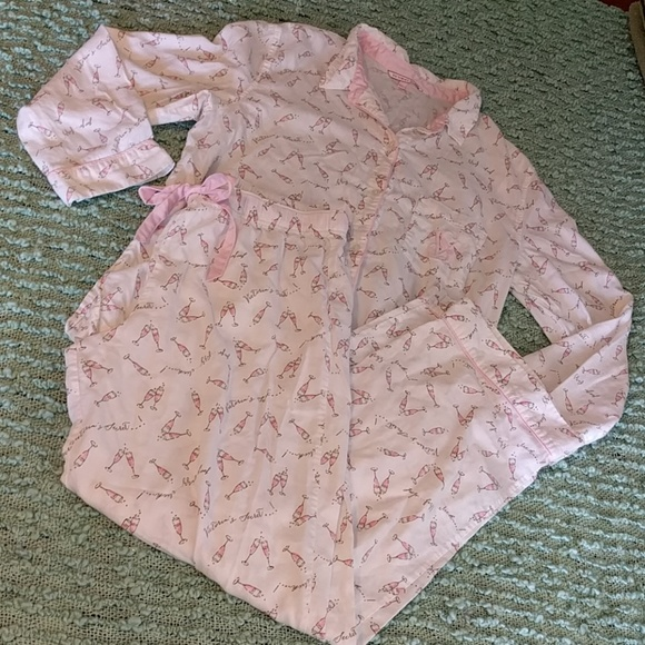Victoria's Secret Other - VS Champagne Dreamer Flannel PJs